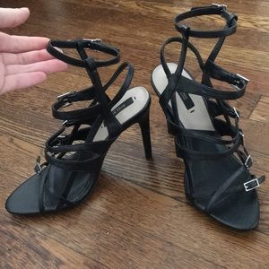 Strappy Zara Heels brand new!